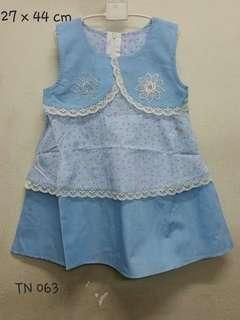 #Baby30 homemade girls dress