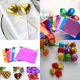 Aluminum foil for candy / chocolate wrappers