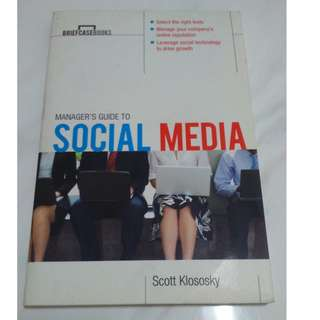 [Educational Book] Manager's Guide to Social Media