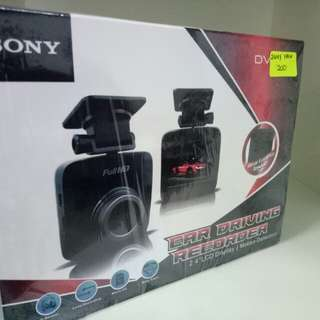 SONY DASHCAM HD with reverse camera