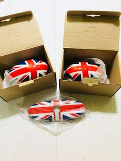 Union Jack Side mirror covers and rear mirror cover