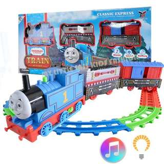Motorized Thomas Track Play set with Light and Sound