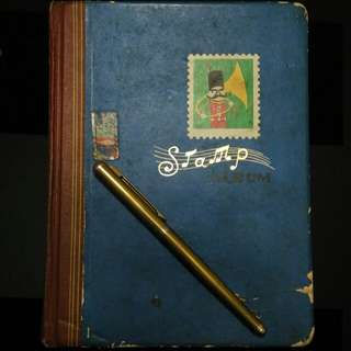 Album Perangko / Stamp Vintage