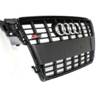 Original Audi S4 B8 Front Grill Full Black