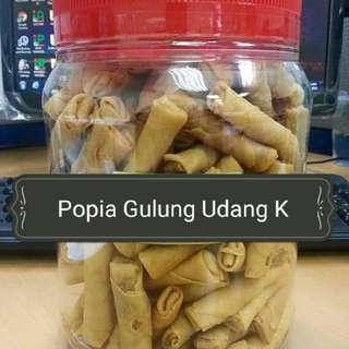 POPIA GULUNG UDANG KERING kuih raya