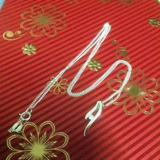 Genuine 925 Italy Silver Necklace