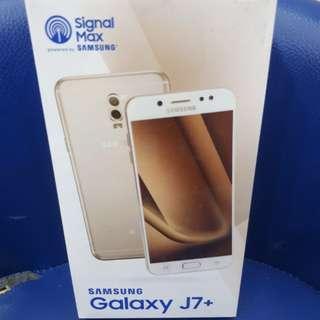 Samsung J7+ DiJual Kredit DP Gratis ADM