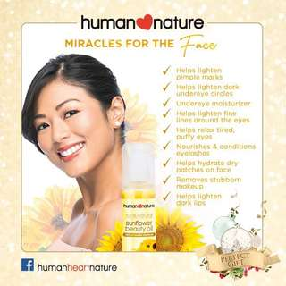 Human Nature Sun Flower Oil