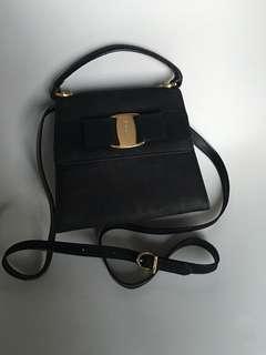 Salvatore Ferragamo mini bow cute handle bag 鏈袋 背包 背囊 wallet Backpack vintage