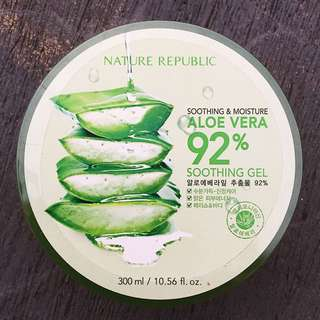 NATURE REPUBLIC ALOE VERA GEL ORI KOREA