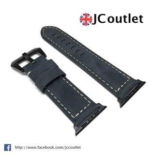 藍色猄皮Apple Watch 42mm錶帶 - Series 1, 2 & 3