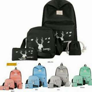 Korean Bag Set ! Php:*450