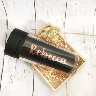 Customized tumbler - handcrafted GIFT IDEA mother's day