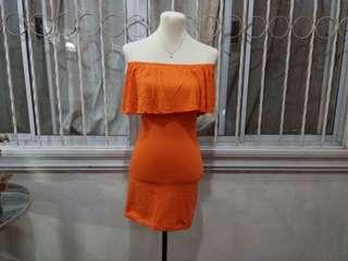 Dress of shoulder