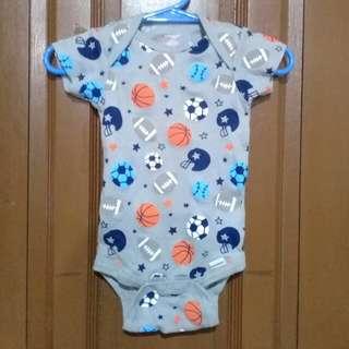 Balls onesie for baby boy