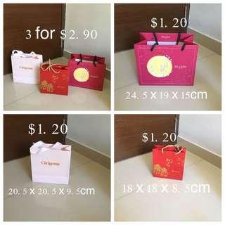 Set Of 3 Paper Bag