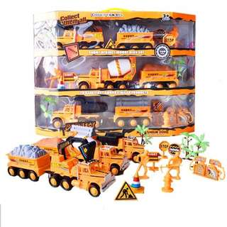 Deluxe Construction Vehicle Truck and Tools Combo Set