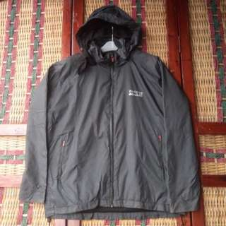 Jaket Hoodie Outdoor Polyester Size L Pria