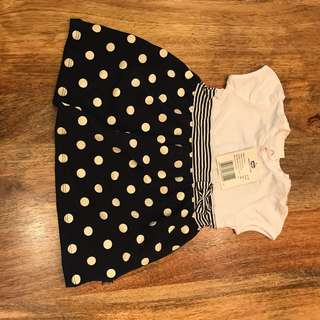 Brand new Chicco baby girl dress