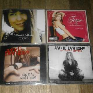 Cd Album and Single (Imported and PH)