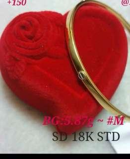 Cartier Bangle 18k Saudi