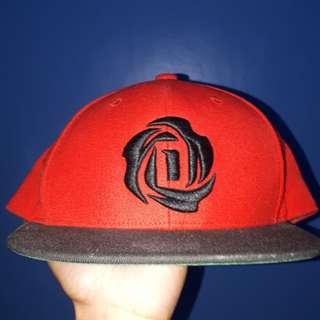 Adidas D-Rose red snapback cap