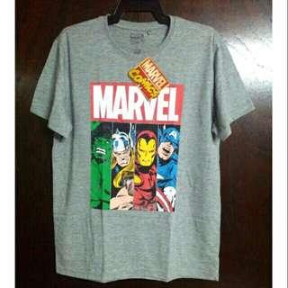 Marvel Comics The Avengers Gray T-Shirt