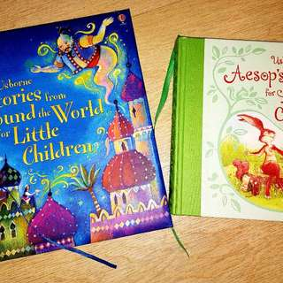 Usborne Stories for Little Children(2 books!)