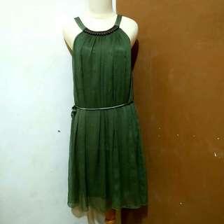 Dress hijau Gaudí