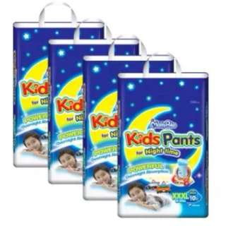 MamyPoko Kids Pants Boys XXXL10 (4 pack)