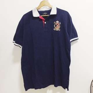 US Polo Assn Dark Blue Polo Shirt