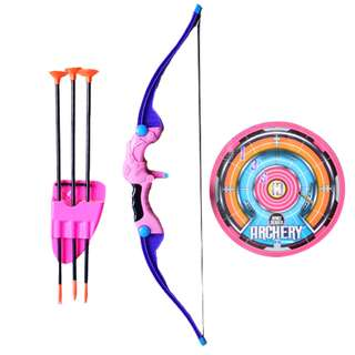 Archery Set Bow Arrow Set Sports Toy and Hunting Series Pink Sport Series
