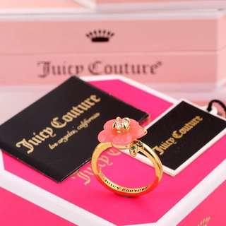 美國🇺🇸 Juicy Couture 原裝正品💕 粉色花戒指