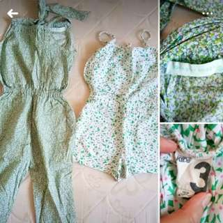 Summer rompers for Kids
