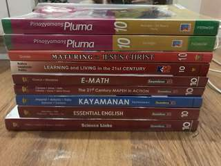 GRADE 10 Textbooks (Complete)