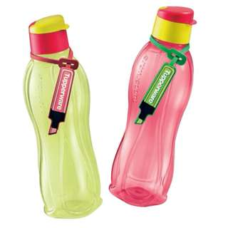Tupperware Eco Bottle 750ml Flip top with tag