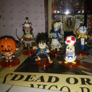 One Piece Set 8pcs
