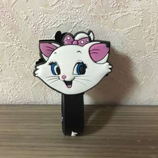 全新✨迪士尼瑪麗貓捲線器