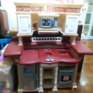 發声玩具厨房