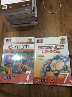 GRADE 7 Textbooks (Incomplete)