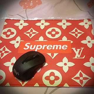 全新Supreme個性 滑鼠墊
