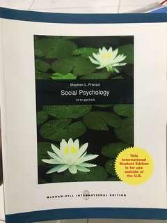 Social Psychology (5th edition) by Stephen L. Franzoi