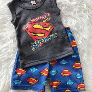 Superman singlet set