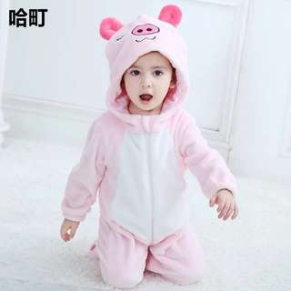 (New)Baby animal winter wear outfit/ pajamas