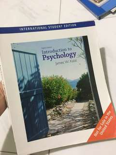 Introduction to Psychology (8th edition) by James W. Kalat