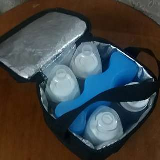 MEDELA ice pack, cooler bag & ANAKKU bottles