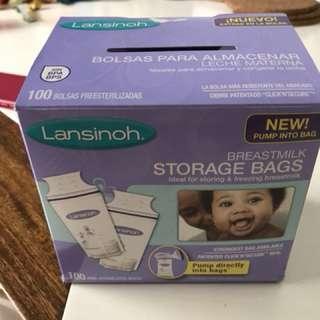 Breast milk bag