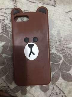 Cute bear iphone 7 plus case
