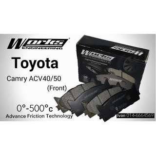 Brake Pad-Toyota Camry ACV40 / ACV50 2.4