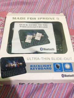 Bluetooth keyboard for iphone 5/5s